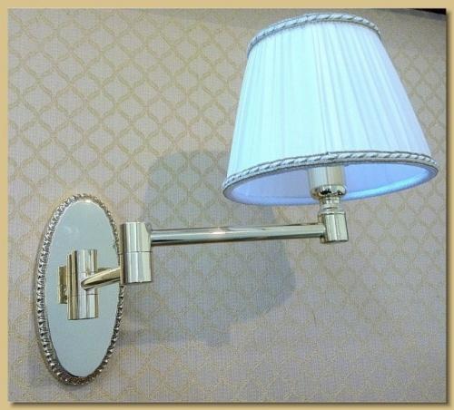 Arredamento ottone applique lampada da muro mod doppio for Applique da muro